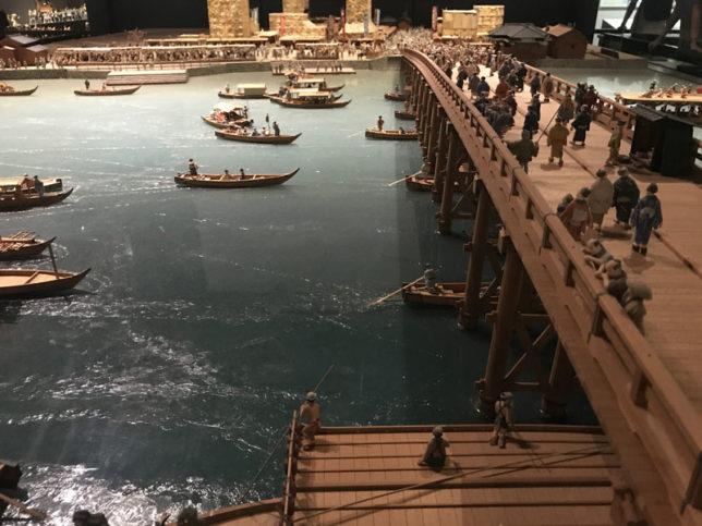 江戸のジオラマ