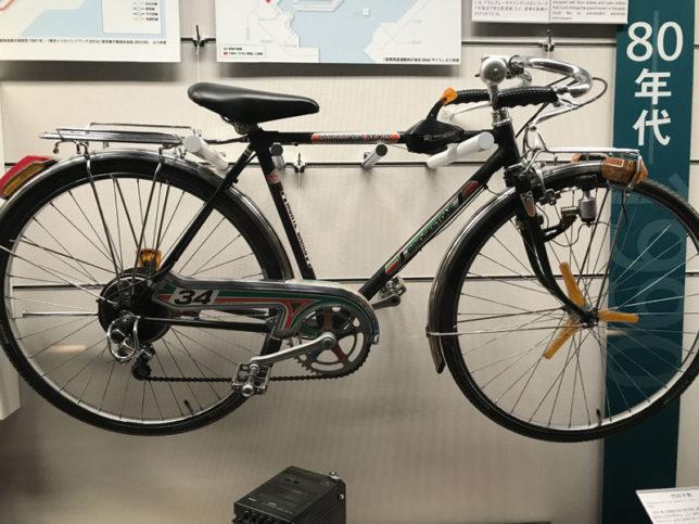 70年代の自転車