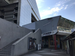 江戸東京博物館の入り口